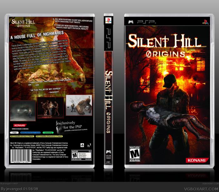 Silent Hill Origins box art cover
