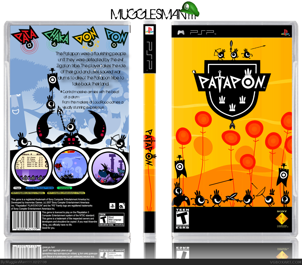 Patapon box cover