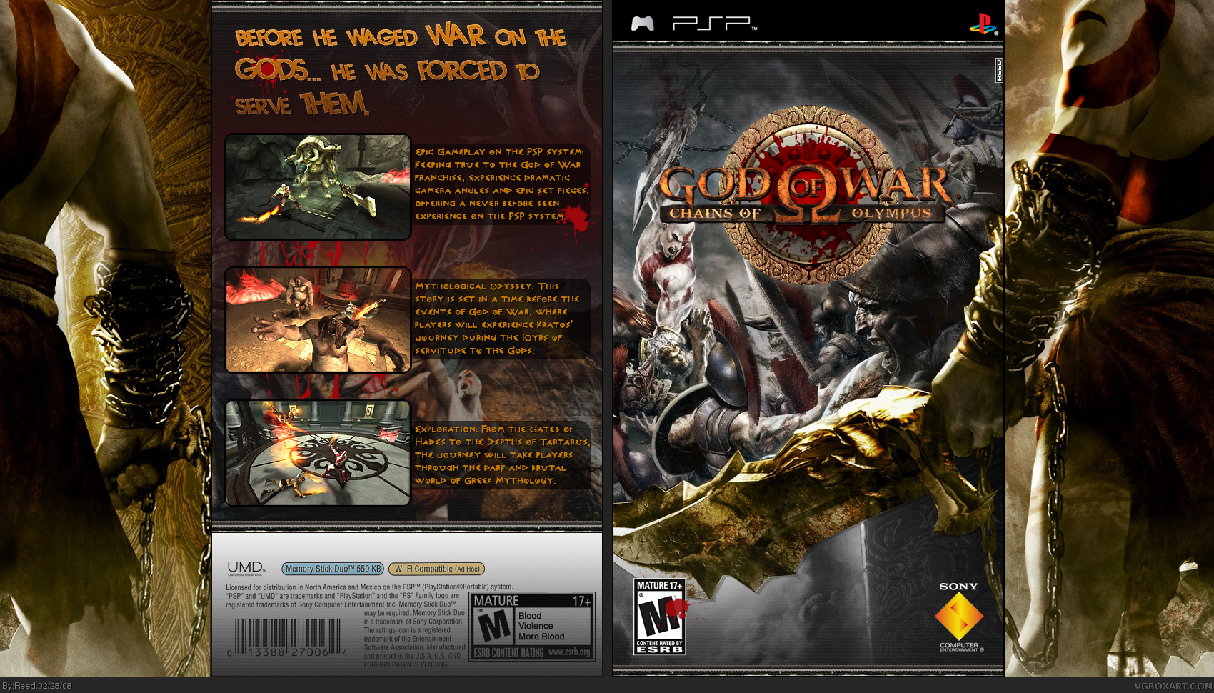 god of war chains of olympus ps2