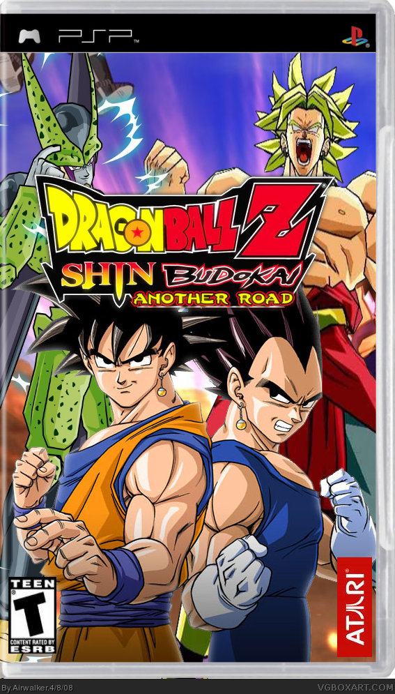 Dragon Ball Z: Shin Budokai Another Road Box Cover Comments