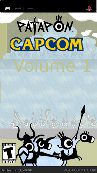 Patapon Capcom Vol. 1 box cover