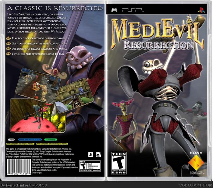PSP » Medievil: Resurrection Box Cover