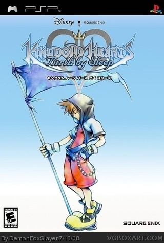Kingdom Hearts Birth By Sleep box cover