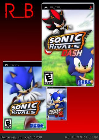 Sonic Rivals Trilogy Psp Box Art Cover By Rasengan Boi