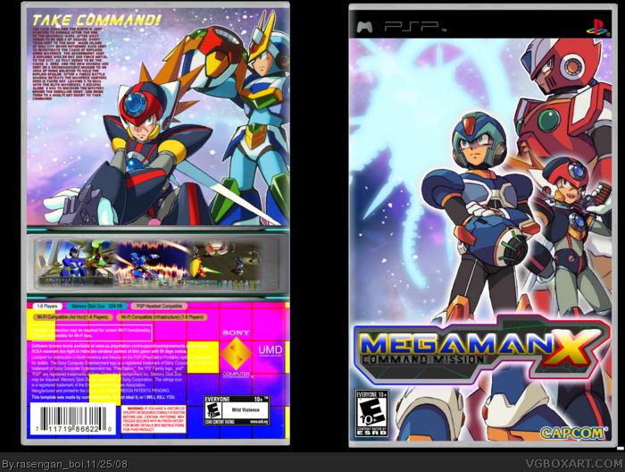 PSP » MegaMan X Command Mission Box Cover