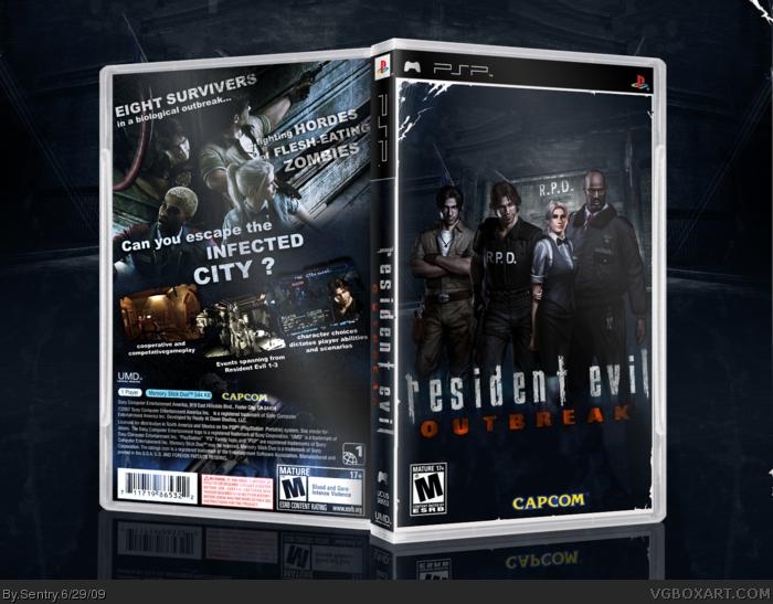 Resident Evil Psp скачать торрент img-1