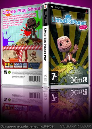 Little Big Planet PSP box art cover