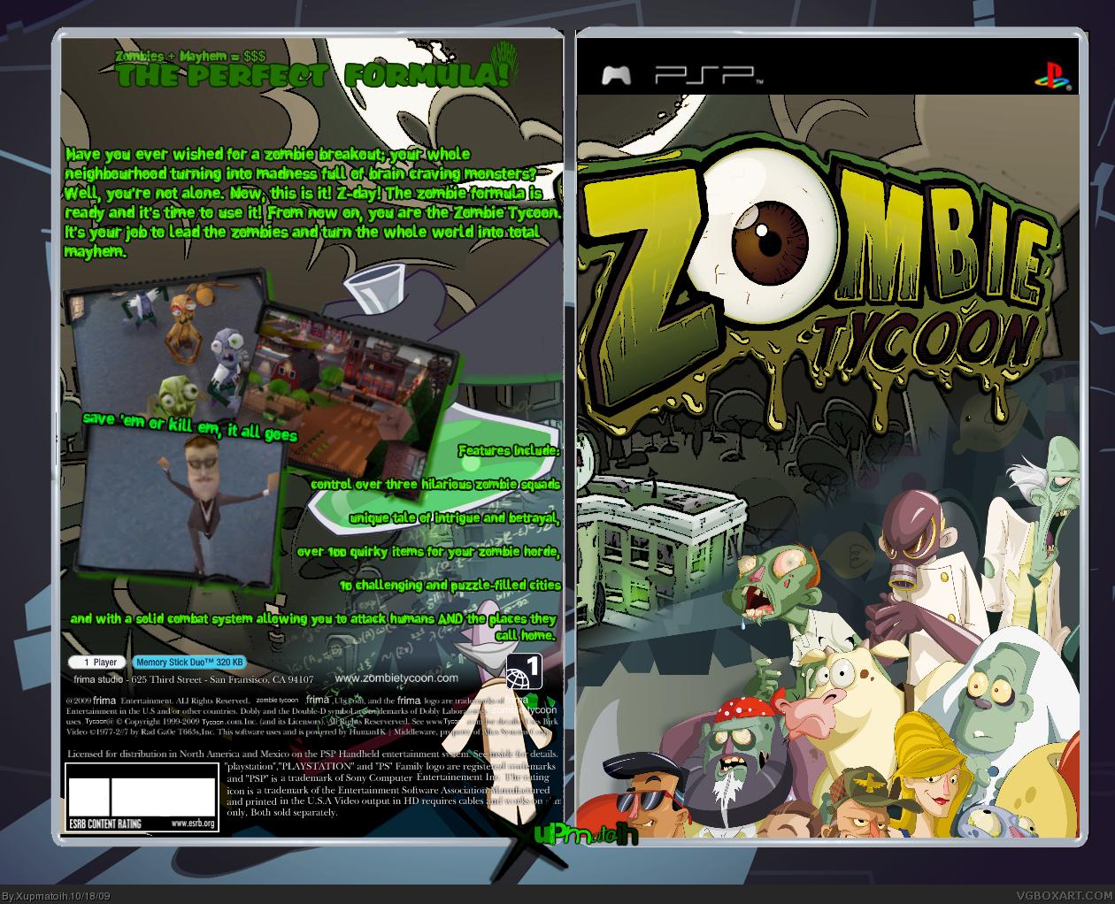 Ps3) zombie tycoon (npez-00103) (russian) (minis) 03jpg