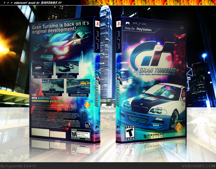 Gran Turismo box art cover