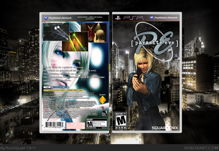 Parasite Eve Psp Box Art Cover By Rockspam