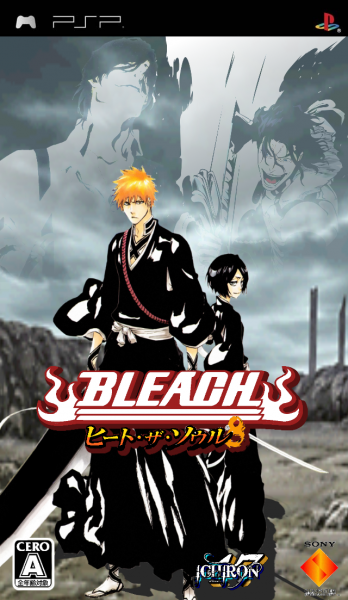Bleach Heat The Soul 8 Psp Box Art Cover By Ichiron47