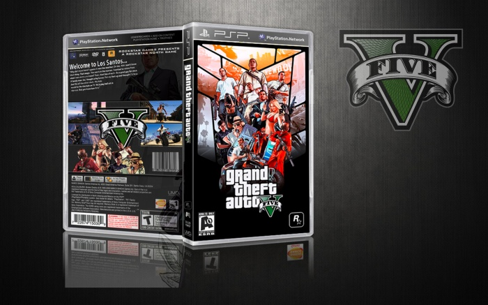 GTA V PSP Box Art Cover by Snoop Wogg