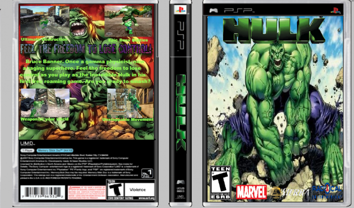 Permalink to Hulk Game For Psp