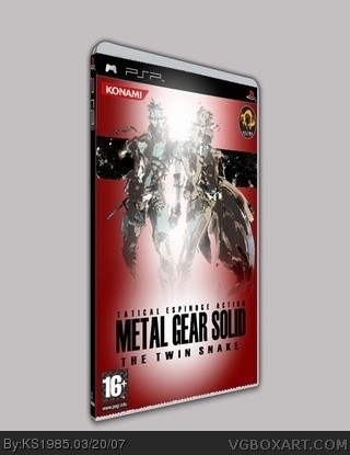 Metal Gear Solid: The Twin Snake box cover