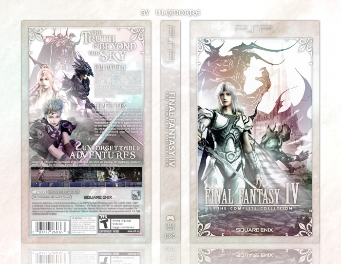 Final Fantasy IV: the complete collection box art cover