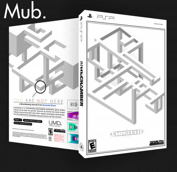 Antichamber box art cover
