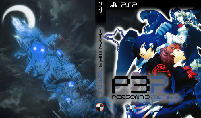 Shin Megami Tensei: Persona 3 Portable box art cover
