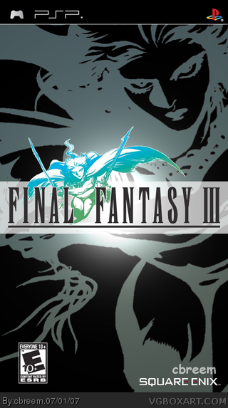 Final Fantasy III: Anniversary Edition box cover