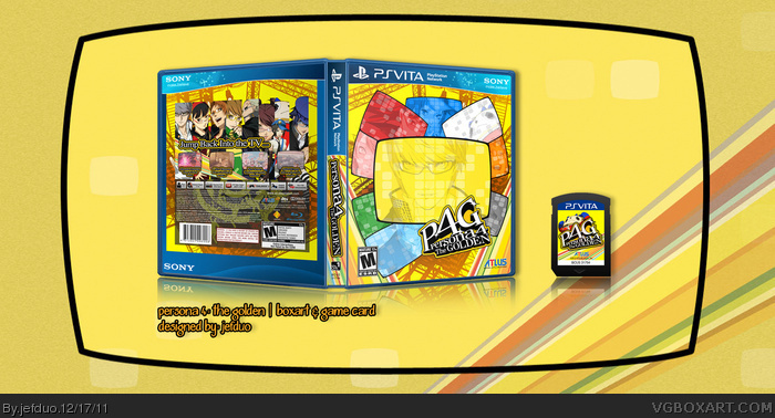 Persona 4: The Golden box art cover