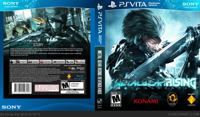 Nintendo 3ds Colors Cases Metal Gear Rising: Rev...