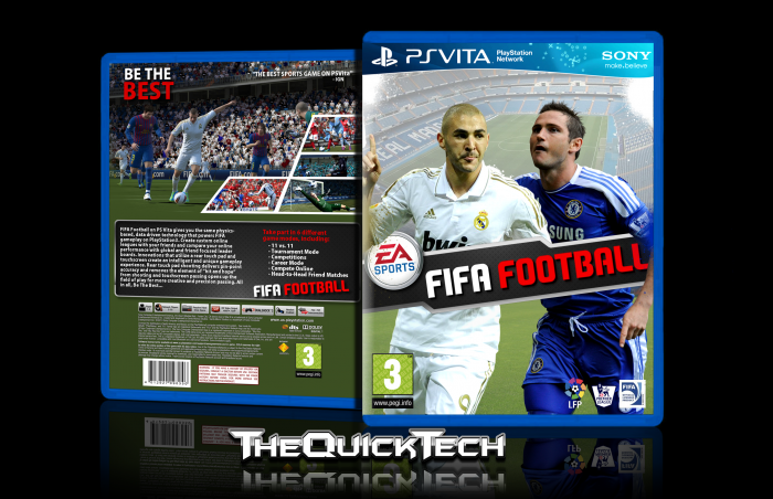FIFA Football PlayStation Vita Box Art Cover by TheQuickTech
