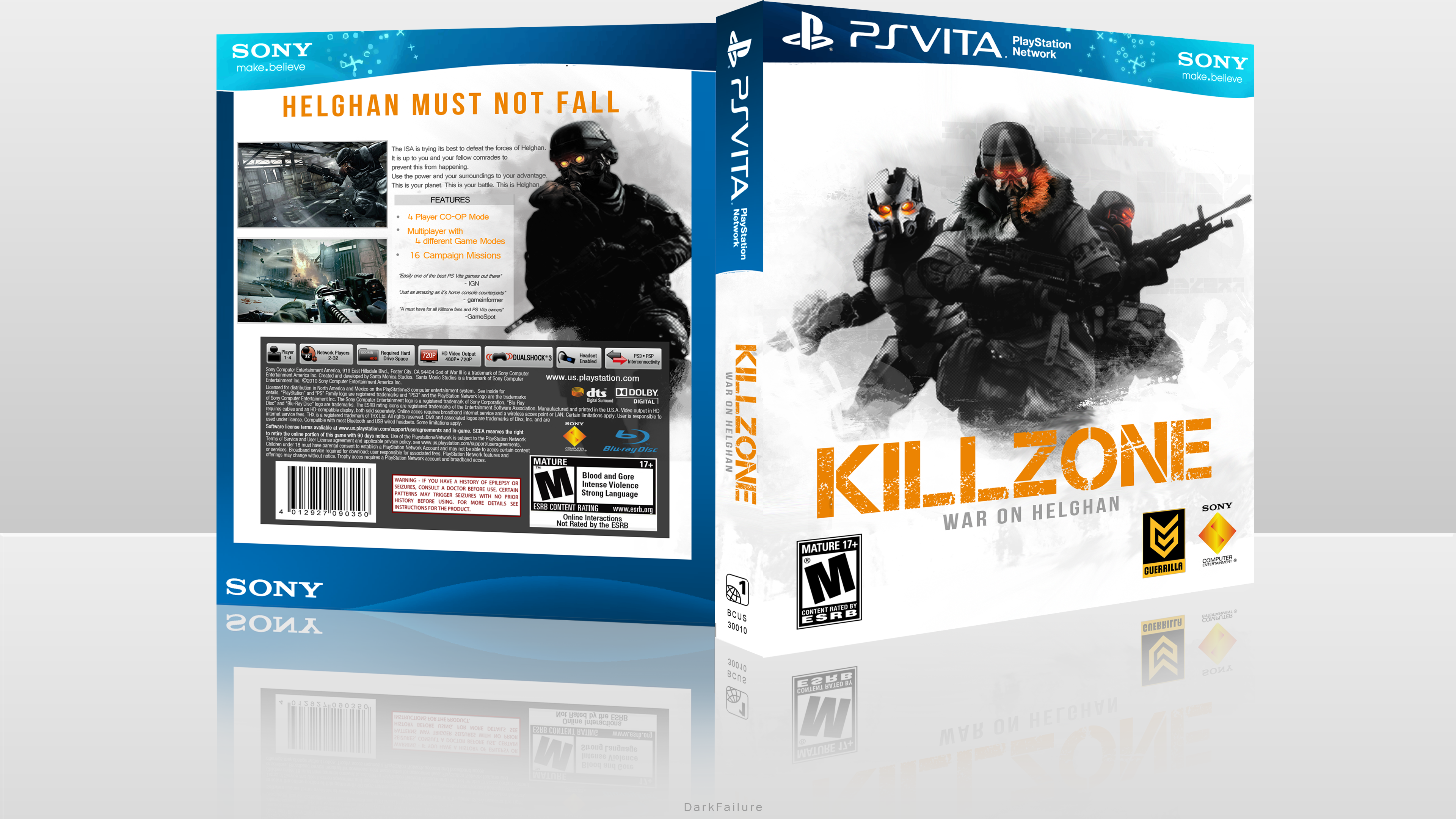 Killzone War On Helghan box cover