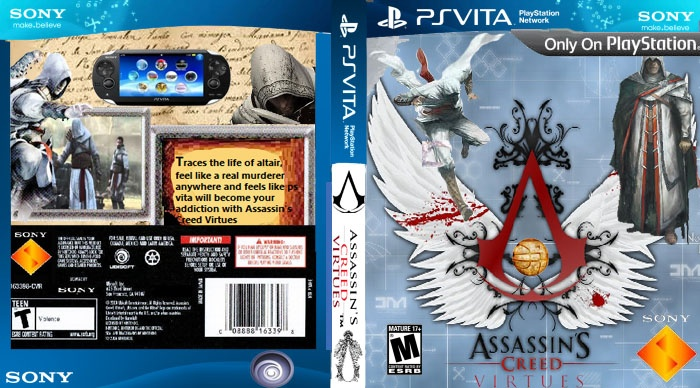 Assassin's Creed Virtues box cover