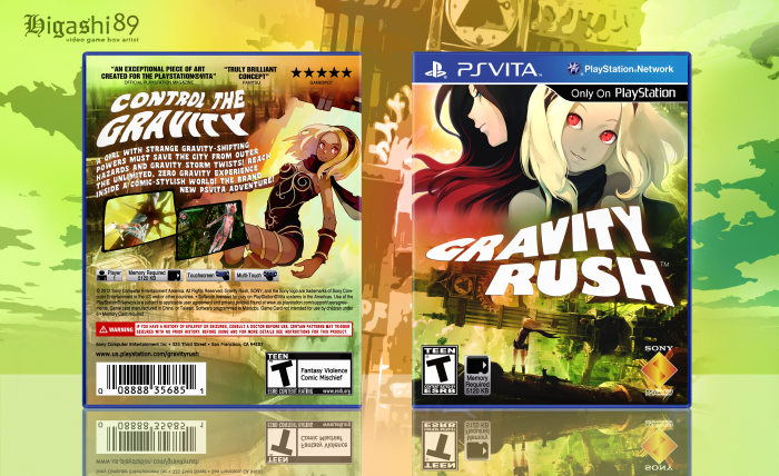 Gravity Rush box art cover