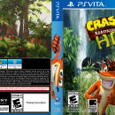 Crash bandicoot HD Box Art Cover