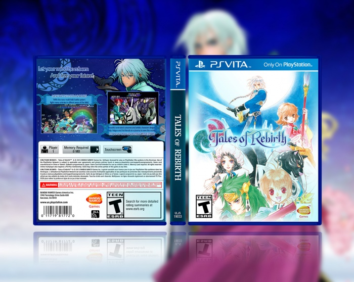 Tales of Rebirth box art cover