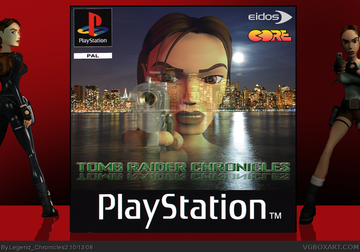 Tomb Raider: Chronicles PlayStation Box Art Cover by ...  Tomb Raider: Ch...