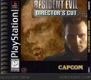 Resident Evil Director's Cut box cover