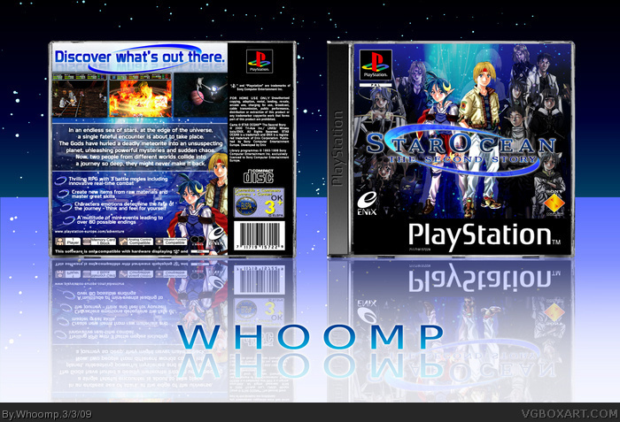 PlayStation » Star Ocean: The Second Story Box Cover