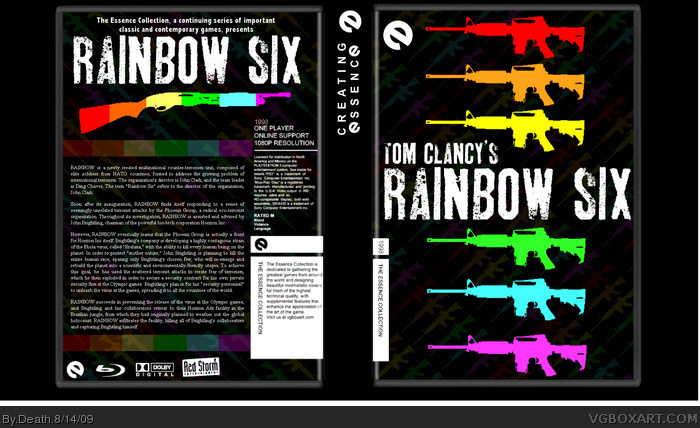 Rainbow Six box art cover