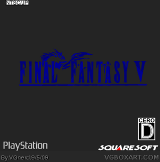 Final Fantasy V box cover