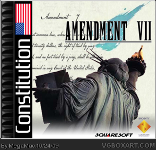 Amendment VII box cover