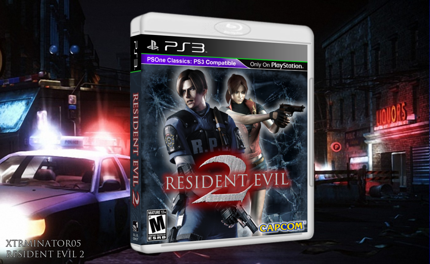 PlayStation » Resident Evil 2 Box Cover