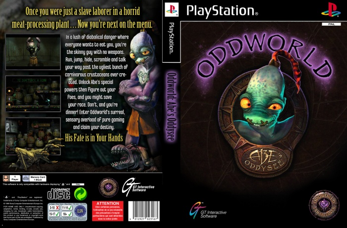The Art Of Oddworld - Inhabitants: The First Ten Years 1994-2004