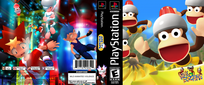 Ape Escape box art cover