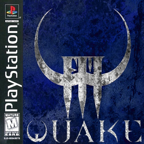 Quake III box cover