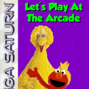 Sesame Street: Let's Play at the Arcade Box Art Cover
