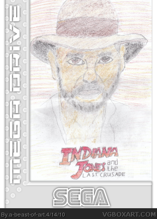 Indiana Jones and the Last Crusade box cover