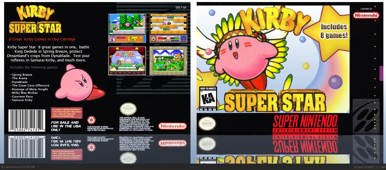 SuperPhillip Central: The 50 Best Nintendo DS Games - Part ... |Kirby Super Star Box