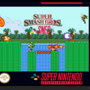 Super Smash Bros. SNES Box Art Cover