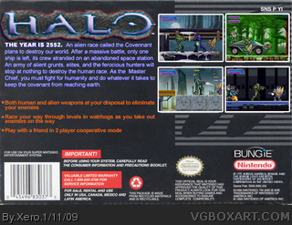 Halo box cover