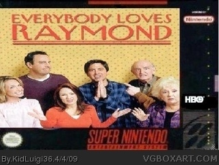 Everybody Loves Raymond box cover