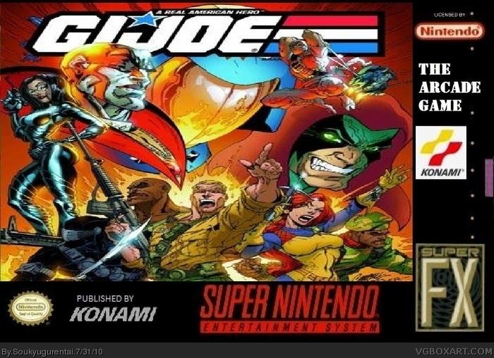 SNES » G.I. Joe: The Arcade Game Box Cover
