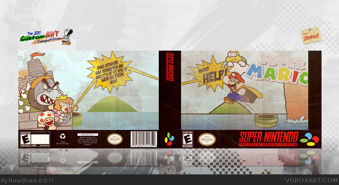 Super Mario box art cover
