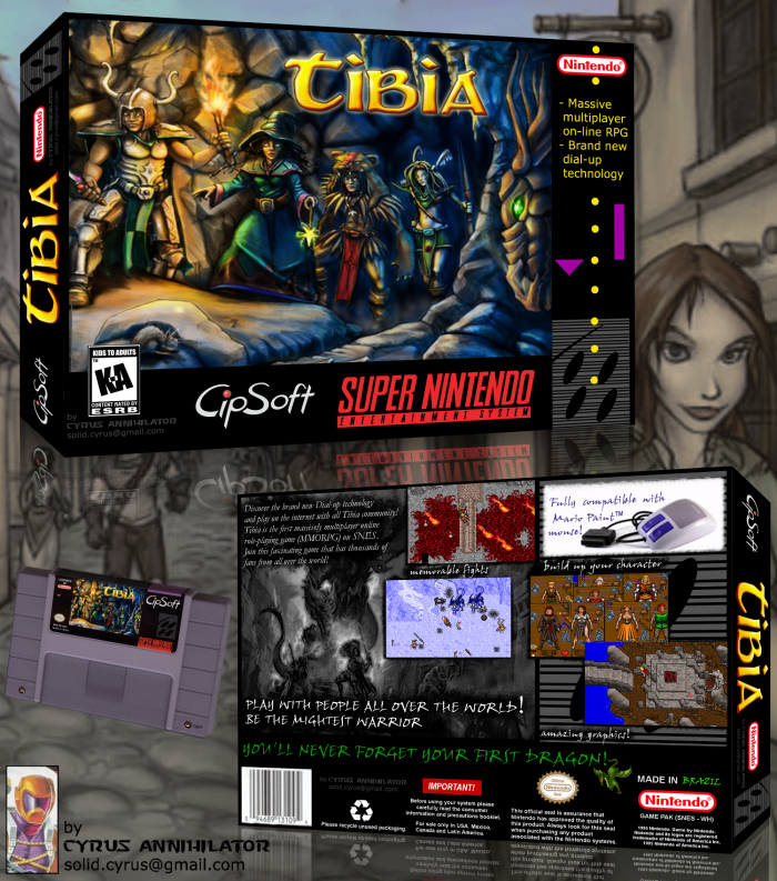 Tibia box art cover