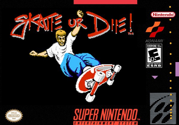 Skate or Die! box cover